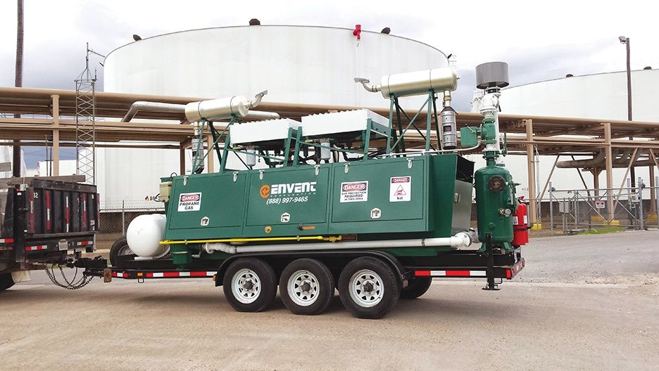 Envent Corporation | Mobile Tank Vapor Control