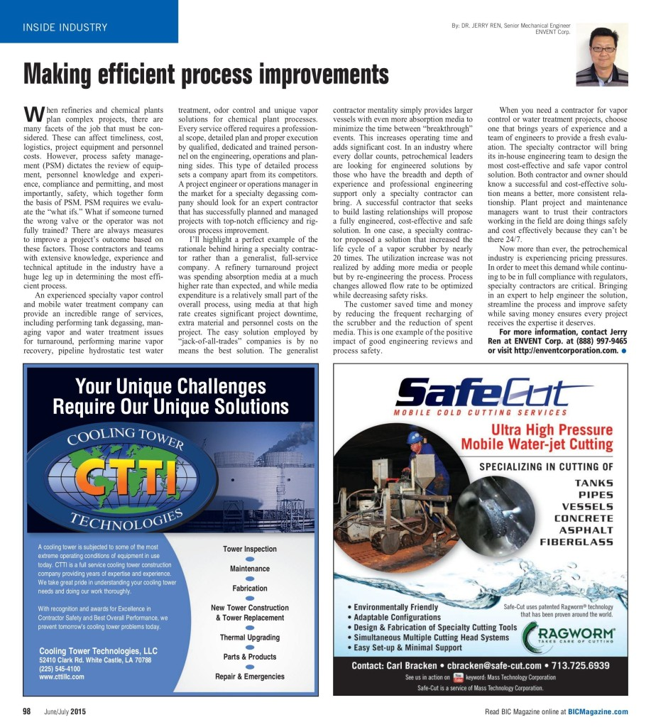 Making efficient process improvements