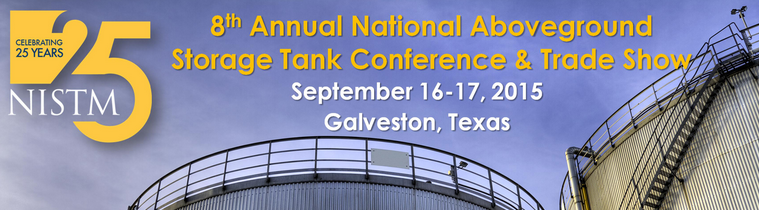 NISTM 8th Annual National Above Ground Storage Tank Conference & Trade Show - Banner