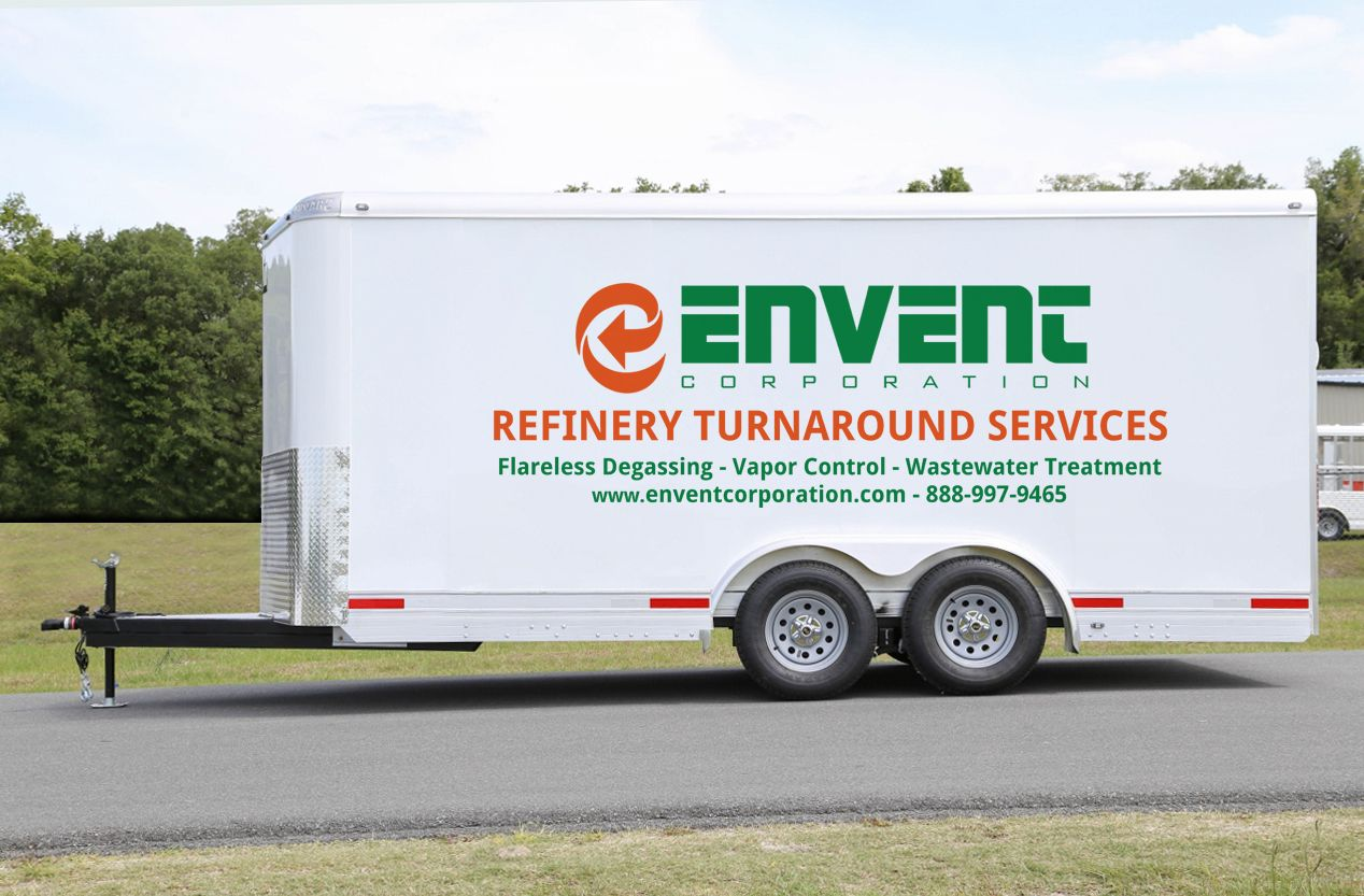 Envent Corporation Refinery Turnaround Services | Flareless Degassing, Vapor Control, Wastewater Treatment