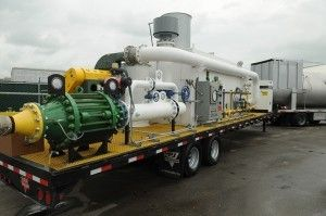 Nation's largest fleet of thermal oxidizers for degassing operations   Envent Corporation