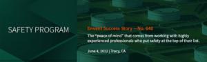 Envent Corporation | Safety Program