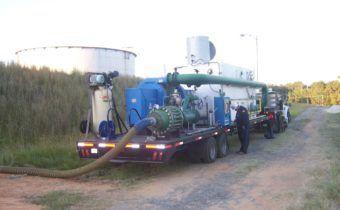 Bayer Baytown #1 Degassing Tanks | Envent Corporation