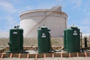 Sphere Tank Degassing | Envent Corporation