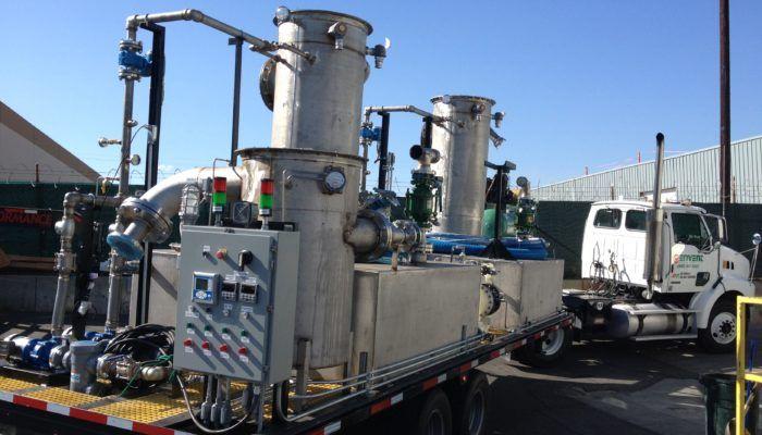 Bullet Tank Degas, Ammonia Scrubber | Envent Corporation