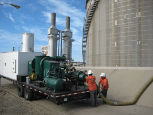 Storage Tank Degassing Mobile Industrial Refinery Cleaning | Envent Corporation