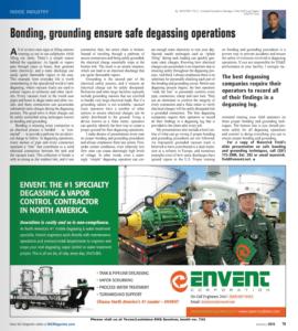 BIC AD - Bonding - Grounding ensure safe degassing operations - June - July 2016 | Envent Corporation