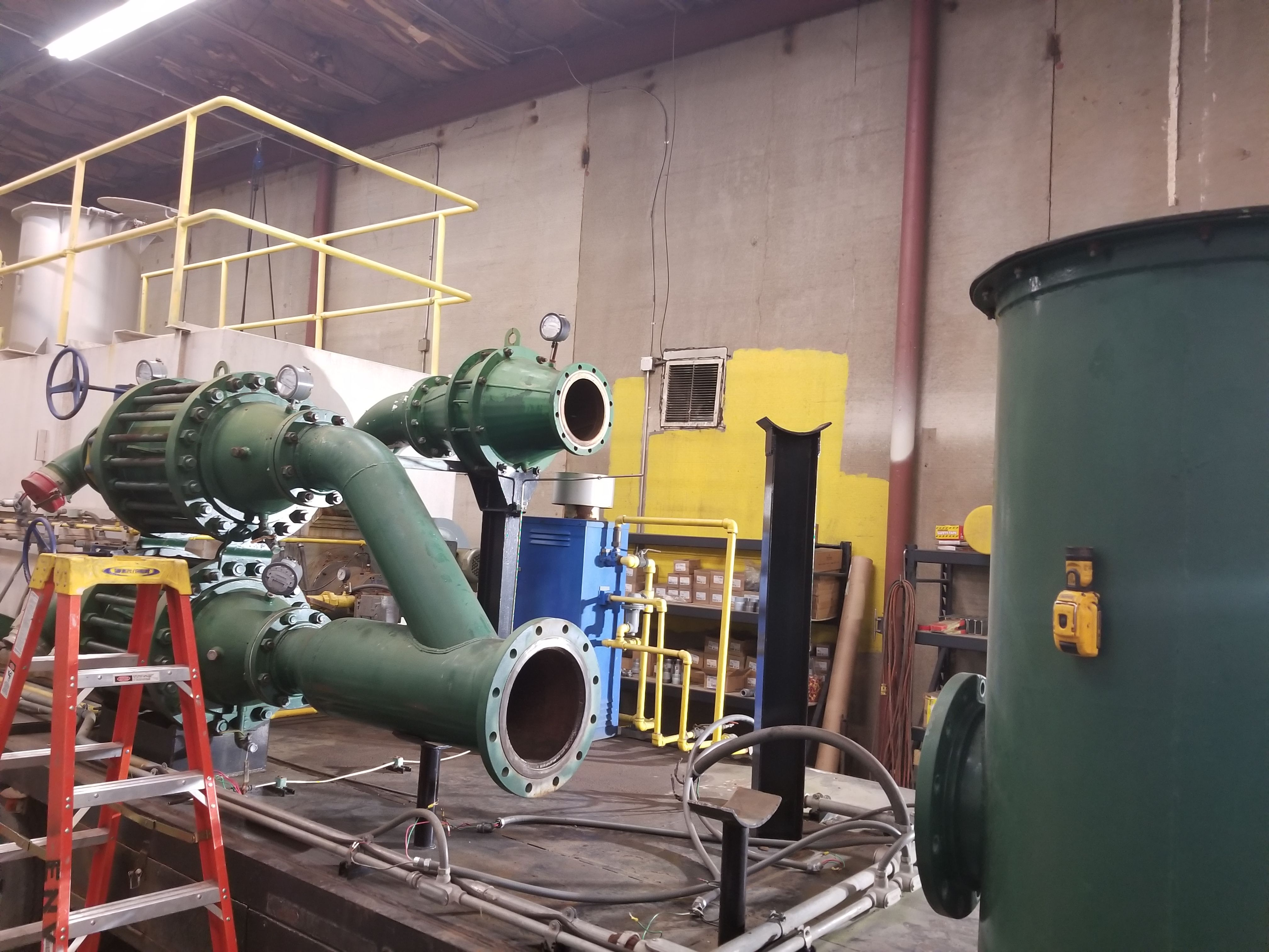 Envent Corporation | EMTOS 4500 Mobile Degassing