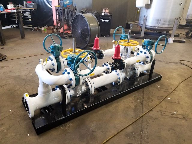 Envent Corporation | Marine Mobile Skid