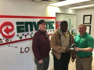 Envent Corporation | Staff Award to Mr. Pounds