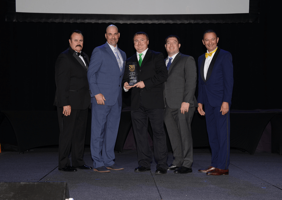 Envent Corporation | Best in Class Award