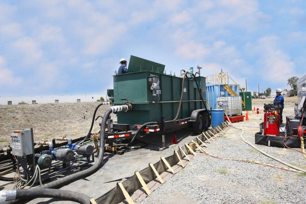 Mobile Wastewater Treatment | Envent Corporation