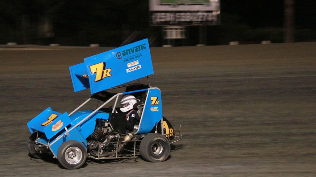 Envent race car driver had a double header race weekend