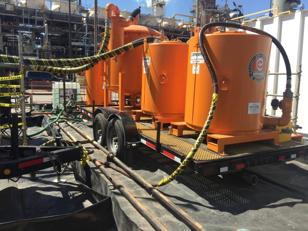 Envent Engineers ensure Environmental Compliance During Tank Cleaning