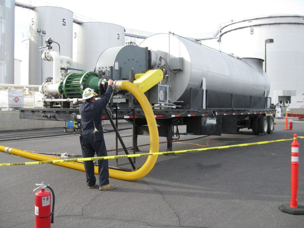 Envent helps to provide a solution to handle Liquid Ammonia tank skid evacuation